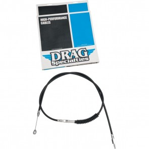 DRAG  CLUTCH CABLE HIGH EFFICIENCY BLACK VINYL 52 3/4""